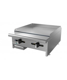 "24"" Gas Countertop Griddle - Asber"