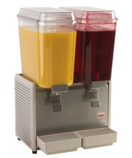 Cold Beverage Dispensers - Double Bowl