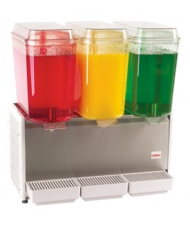 Cold Beverage Dispensers - Triple Bowl