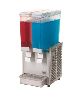 Mini Cold Beverage Dispenser - Twin Bowl