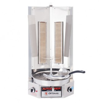 25 lbs Spinning Grillers Gyro Kebab Shawarma  Machine Vertical Rotisserie Grill