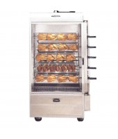 20-25 Chicken Commercial Rotisserie Oven Machine, Gas