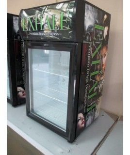 Counter top Glass Door Refrigerator