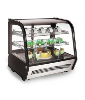 Countertop Refrigerated Showcase, Curved Crystal (71cm)