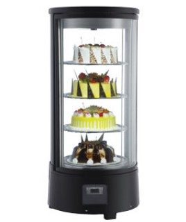 Rotating Refrigerated Display Case