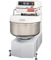 Spiral Mixer can handle 40 kg / 88 lbs of dough, Two speed motor