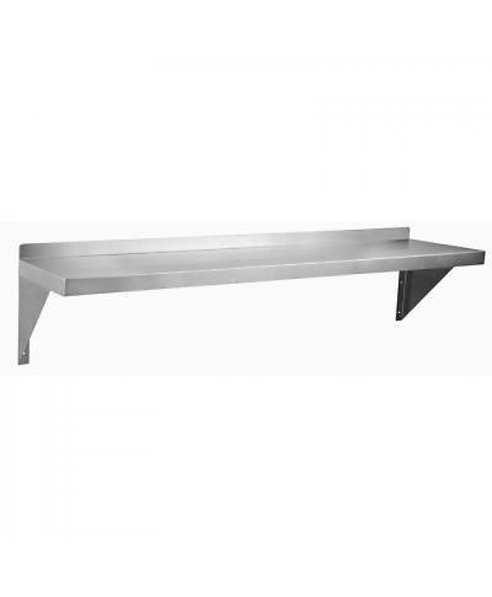 "48"" (122cm) Stainless Steel Wall Shelf"