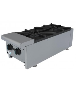 2 Burner Commercial Hot Plate