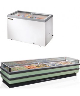 Horizontal Refrigerators and Freezers