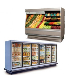 Vertical Refrigerators and Freezers