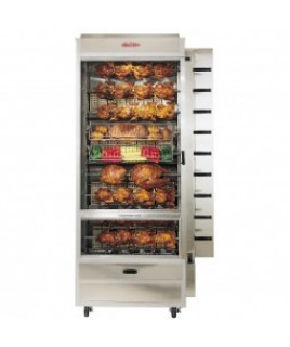 36-45 Chicken Commercial Rotisserie Oven Machine, Gas