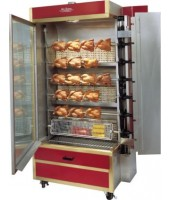 28-35 Chicken Commercial Rotisserie Oven Machine, Gas