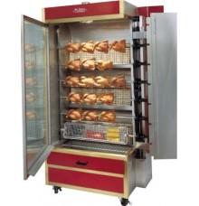 28-35 Chicken Commercial Rotisserie Oven Machine, Gas