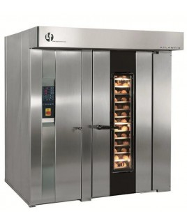 Rotating Double Rack Oven. (36 trays)