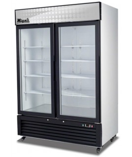 2 Glass Door Merchandiser Freezer