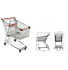 Wire Shopping Cart