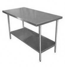 """Stainless Steel Work Table 183cm (72"""") x 77cm (30"""")"""