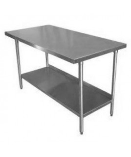 """Stainless Steel Work Table 153cm (60"""") x 62cm (24"""")"""